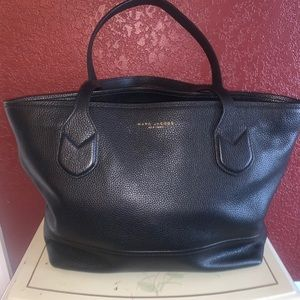 Marc Jacobs Pebble Soft Black Handbag